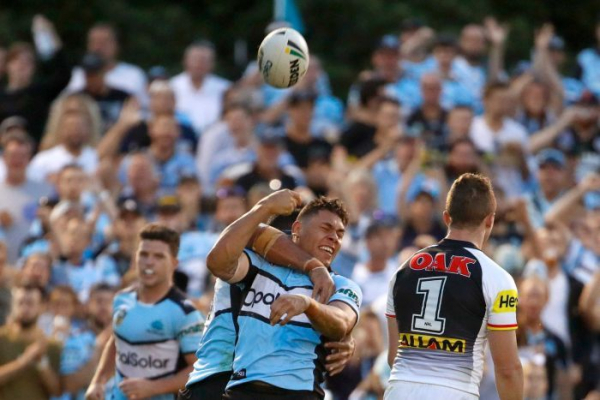 Sharks hold off the Panthers after Eels stun Manly