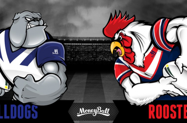 NRL $5,000 BULLDOGS VS ROOSTERS SPECIAL