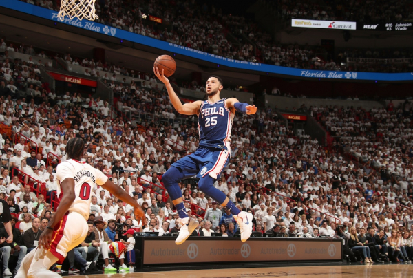 Ben Simmons Records Triple-Double To Lead Sixers