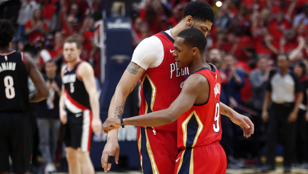 Anthony Davis' 47 points, Pelicans sweep Trail Blazers out of playoffs