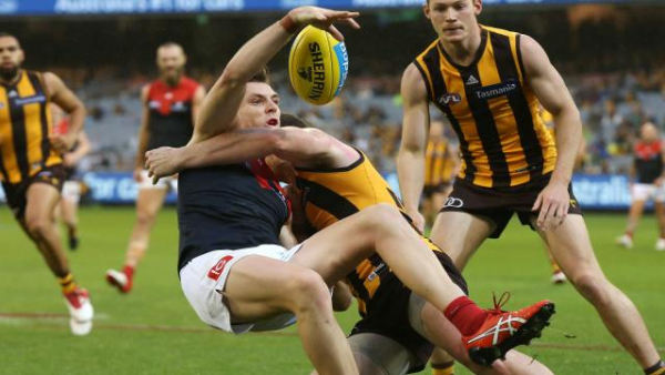 'Soft look' about Jake Lever as he struggles to fit in to Melbourne defensive 50