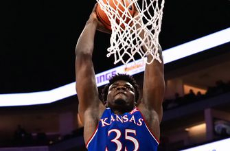 Jayhawks' Azubuike declares for draft but could return
