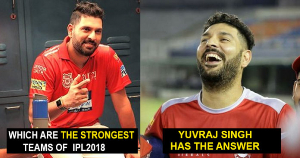 Yuvraj Singh Names The Two Strongest Teams Of IPL 2018