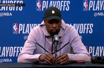 Kevin Durant Press Conference – Game 3 | Warriors at Spurs
