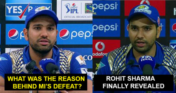 Rohit Sharma Revealed The Main Reason Behind MI's Defeat Last Night