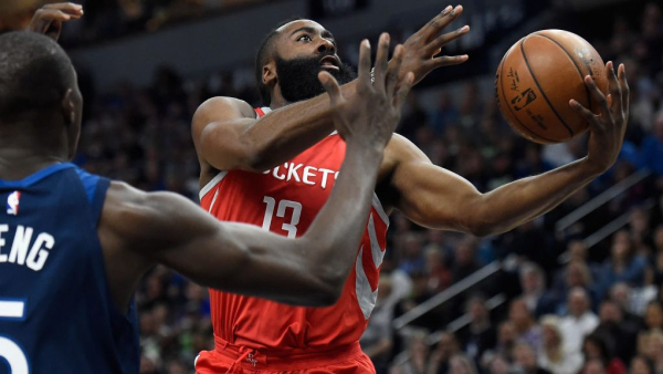 MVP James Harden, dominant Rockets show up in second half, crush Timberwolves
