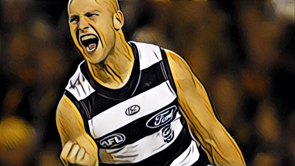 Introducing: The Ablett, Australian football's triple double. Only much rarer, and better