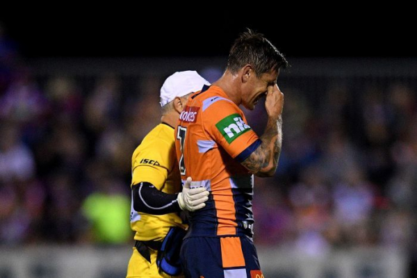 Blow for NSW Origin, Knights as Pearce out for four months