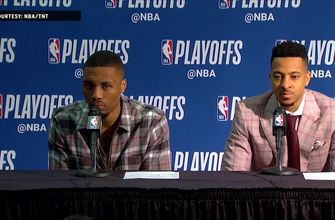 Damian Lillard and CJ McCollum Press Conference - Game 4  | Trail Blazers at Pelicans