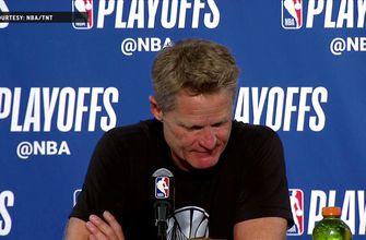 Steve Kerr on Manu Ginobili: 'I hope it's not his last game' | Warriors Eliminate Spurs