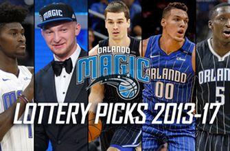 Orlando Magic lottery picks from 2013-17