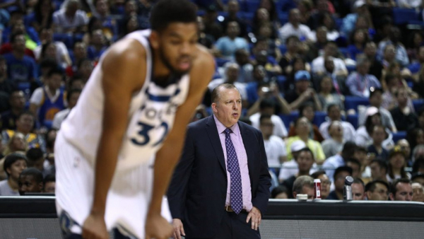 Report: Timberwolves would dump Thibodeau before trading Karl-Anthony Towns