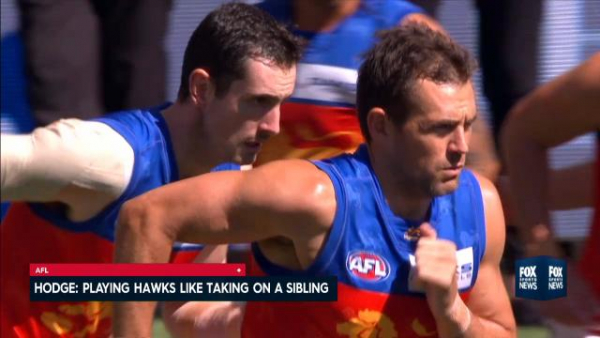 Hawthorn coach Alastair Clarkson says Luke Hodge is now just another player at a rival club