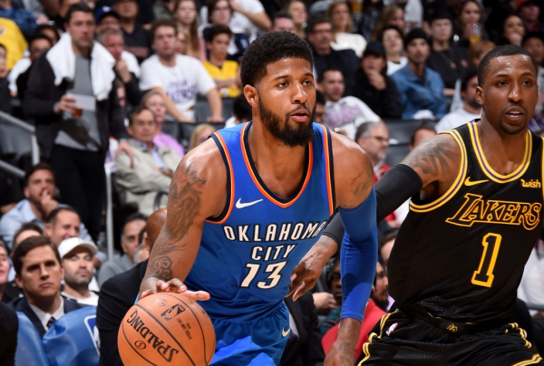 McCollum: Paul George 'Will Enjoy That California Sunshine Next Season'