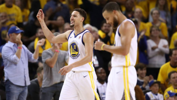 Backs against wall down 17, Warriors crank up defense, rain threes, force Game 7