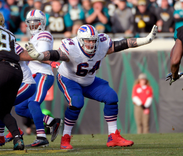 Ex-Bills guard Incognito in custody after gym disturbance