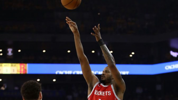 Rockets were draining threes in the first half against Warriors in Game 6