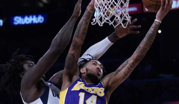 Lakers Workout Video: Brandon Ingram Completes Dribbling Drills, Finishing At The Basket Through Contact