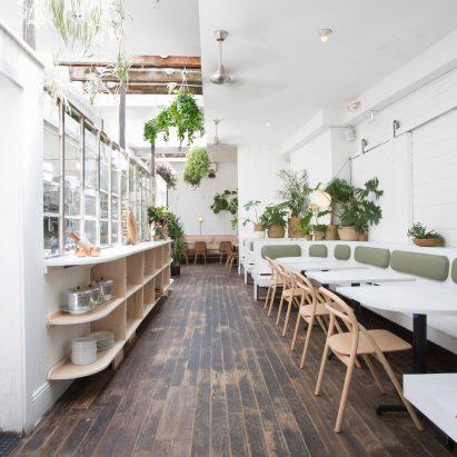 Di An Di restaurant in Brooklyn serves Vietnamese cuisine in plant-filled spaces