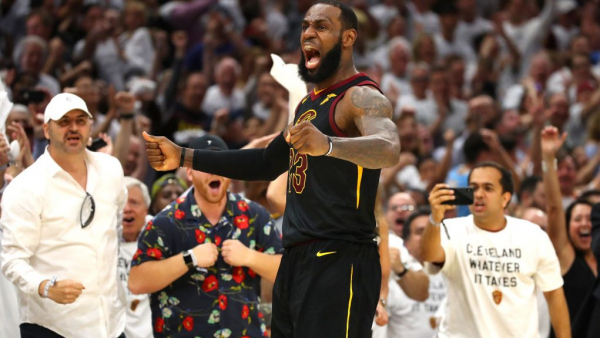LeBron James is a force nature, scores 46, wills Cavaliers to win forcing Game 7