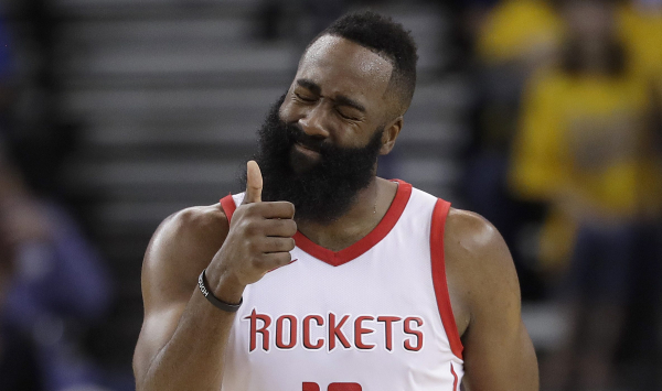 Rockets survive gut punch from Warriors, even Western Conference Finals at 2-2