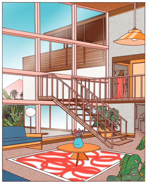 Liam Cobb plays with architecture in a bunch of new sigh-inducing illustrations