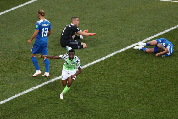 Nigeria 2 Iceland 0: Ahmed Musa keeps Super Eagles World Cup dreams alive
