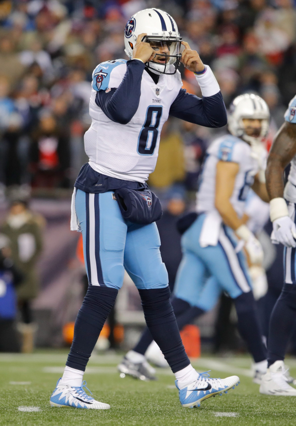 Titans training camp questions: What can Mike Vrabel, new staff do for Marcus Mariota?