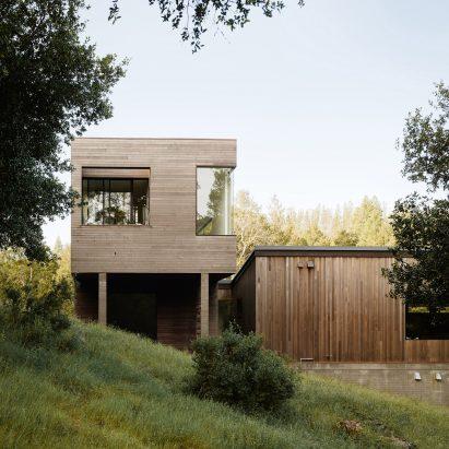 Butler Armsden's Valley of the Moon house in California has no front door