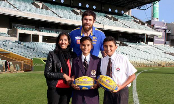 Eagles and MSWA raise funds for the WA community