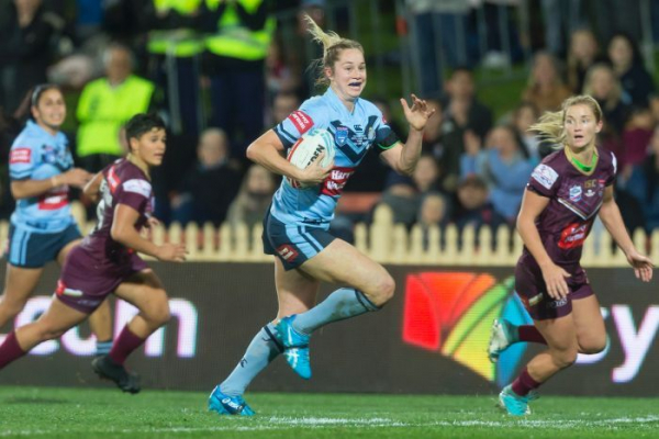 Resilient Blues beat Maroons in women's State of Origin thriller