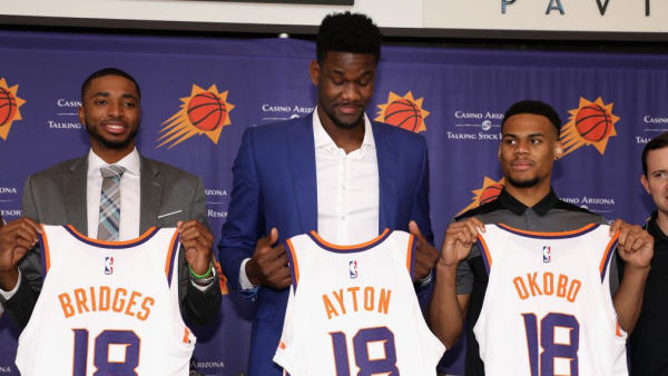 Deandre Ayton arrives as symbol that Suns are on the rise