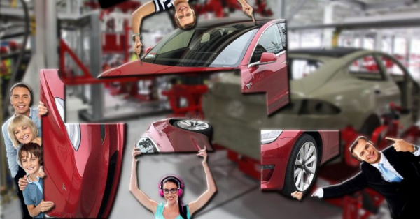 Build your own Tesla? Elon Musk teases interactive factory tours