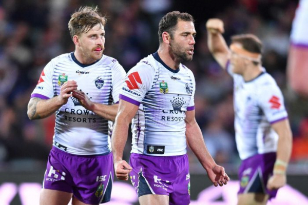 Smith guides Storm to win over Roosters, Sharks pip Warriors
