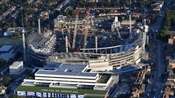 Spurs' new stadium safe-standing ready