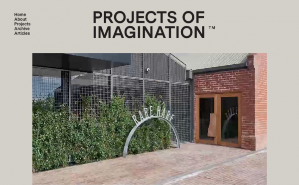 Projects of Imagination