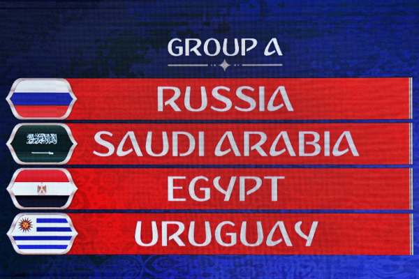 Fifa World Cup 2018 Group A guide: Russia, Saudi Arabia, Egypt, Uruguay - final standings, table, results, teams, squad, permutations, betting tips/odds