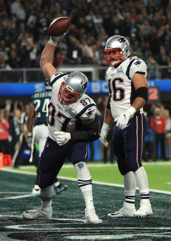 Lions discussed trade for Patriots Rob Gronkowski, per report