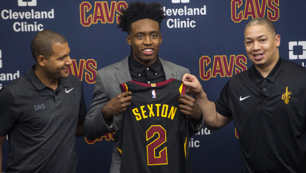 Take 2: Collin Sexton to wear Kyrie Irving's jersey number with Cavaliers