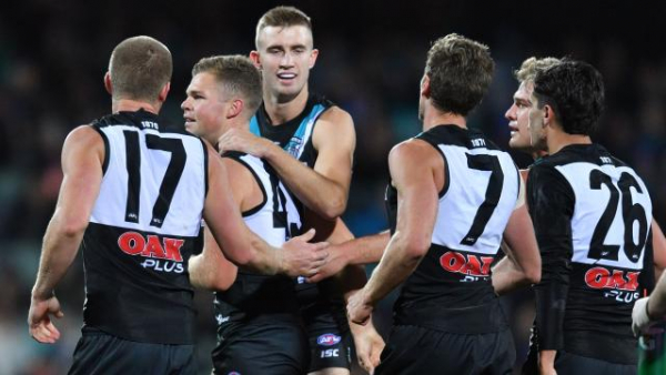AFL 2018: Jack Watts unlikely to play in Port Adelaide v Melbourne game