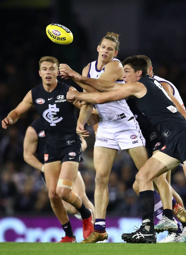 Match report: Dockers crush dismal Blues