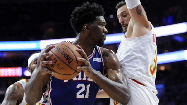 New 76ers big Mike Muscala in February: I don't like the 76ers because they, especially Joel Embiid, talk a lot of trash