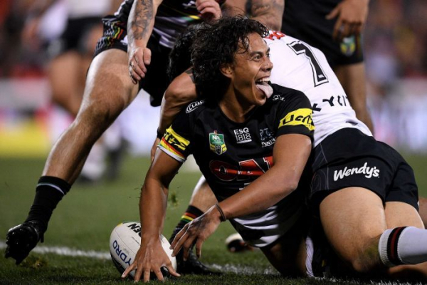 Rookie Jarome Luai electrifies Panthers to big NRL win over Warriors