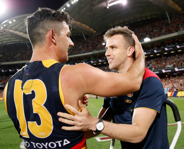After almost a year, Crows defender back on park