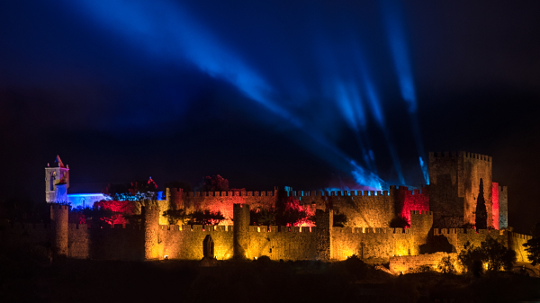 There's a techno rave in a castle happening this summer