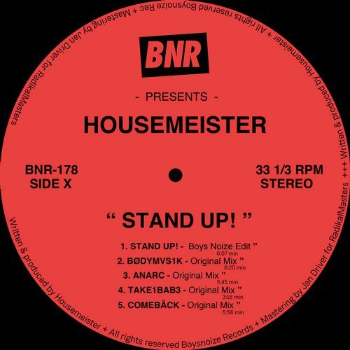 Boys Noize delivers dizzying Housemeister 'Stand Up!' edit