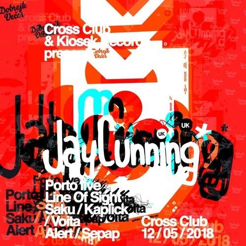 Jay Cunning – LIVE @ Cross Club Prague (Classic Breaks Mix)