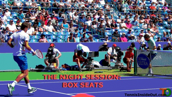 The Night Session: Box Seats Podcast 3 — Wimbledon Roofgate, Scheduling Drama, & ESPN+