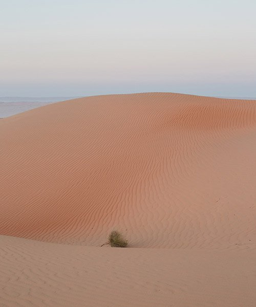 photographer chiara zonca's oman desert dunes appear as futuristic architectural shapes