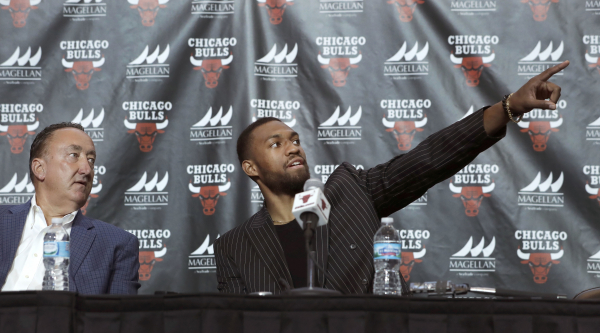 New Bulls forward Jabari Parker: 'They don't pay players to play defense'